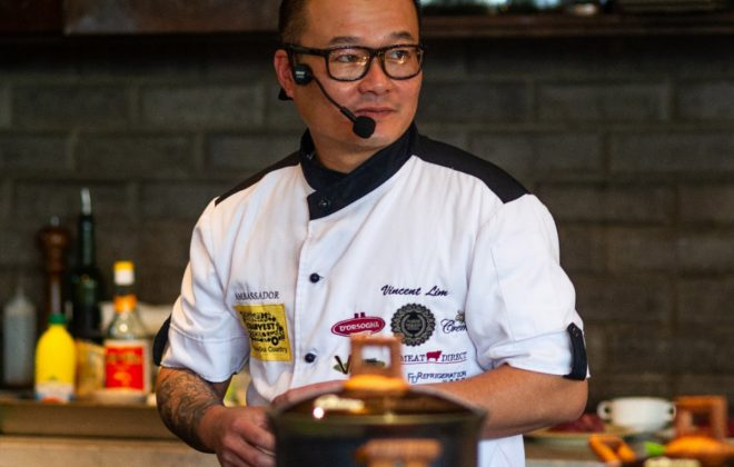Vincent Lim, guest chef Fremantle Long Table Dinner